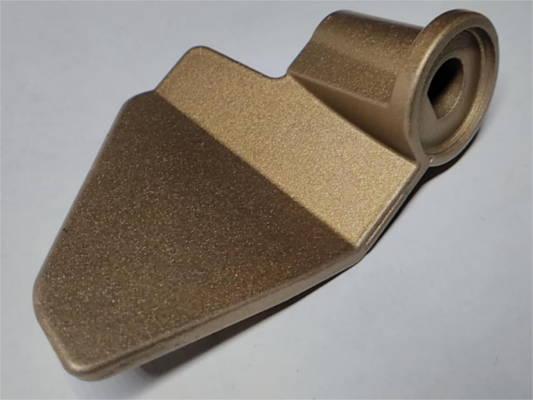 Изогнутая лопатка хлебопечки с плотной посадкой на вал 8.1 мм
