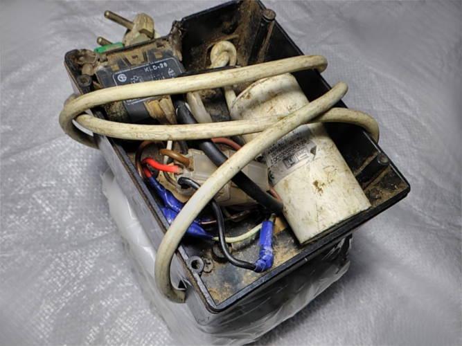 Ремонт статора бетономешалки