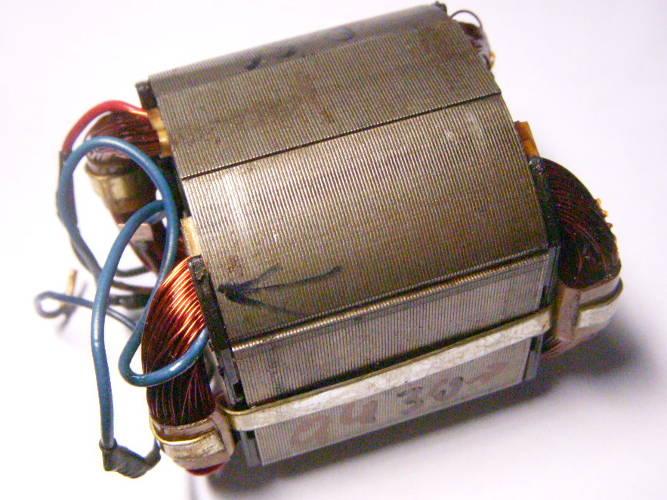 Ремонт статора электрокосы под якорь 43 мм