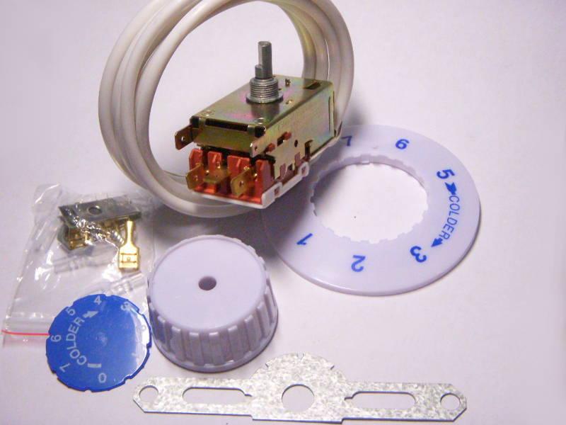 Терморегулятор K59 с капилляром 2.5 метра для двух-трех-камерного холодильника