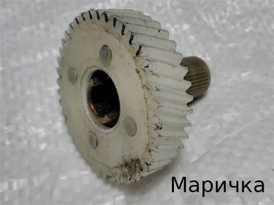Ремонт шестерни стиральной машины Маричка См-2Б