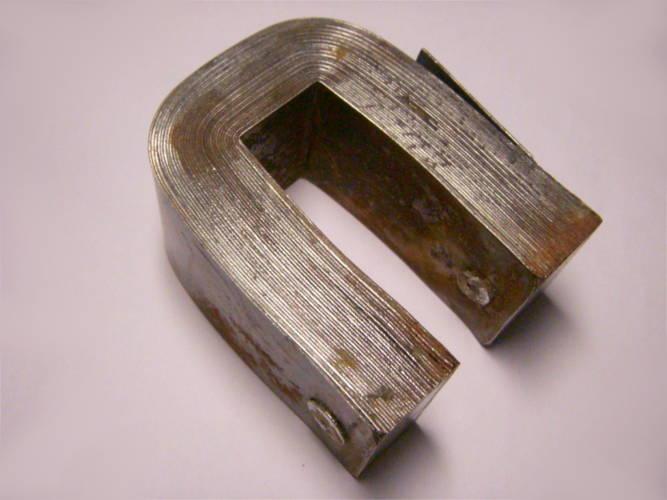 Полукруглый магнит П-шка для виброблока насоса