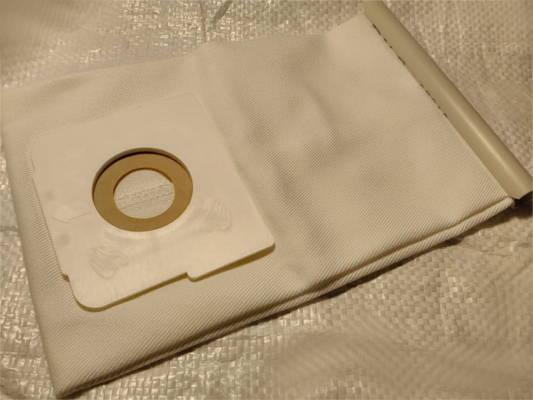 Текстильный пылесборник 87*95 мм для пылесоса LG