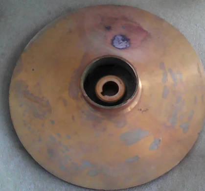Латунное рабочее колесо 143*41*12 для гидрофора