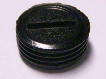 Пробка щеткодержателя болгарки под резьбу 12 мм