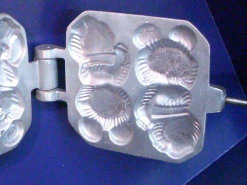 Металлическая форма Олимпийский мишка