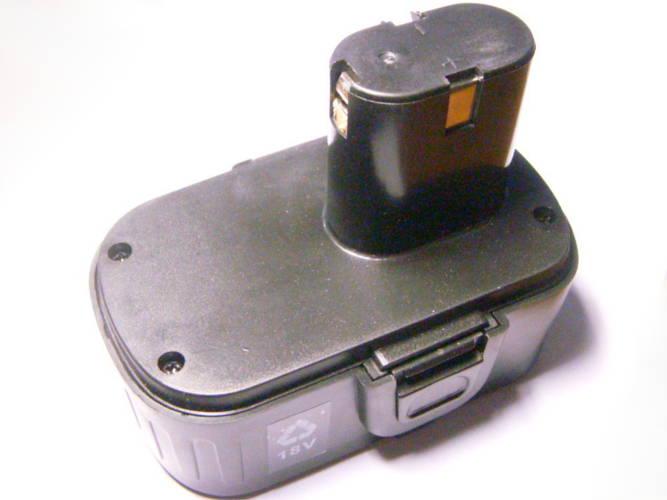 Ni-Cd аккумулятор 18В шириной 72 мм для шуруповерта