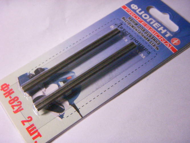 Ножи электрорубанка Фиолент ФН-82У инструментальной стали