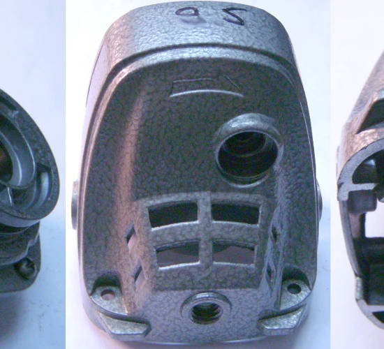 Корпус редуктора 125-й УШМ (болгарки) DWT WS10-125 T