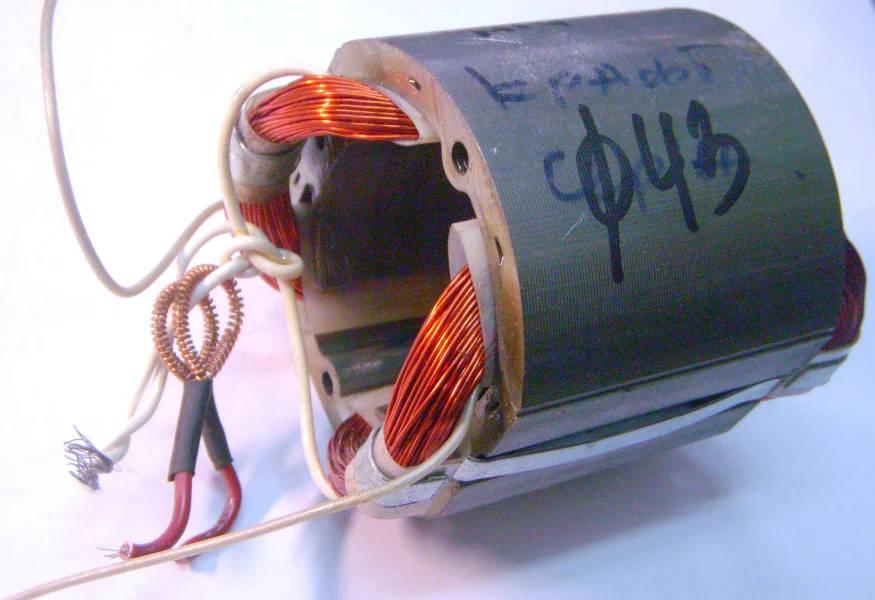 Статор двигателя болгарки Craft, Тайга МШУ-1600-180