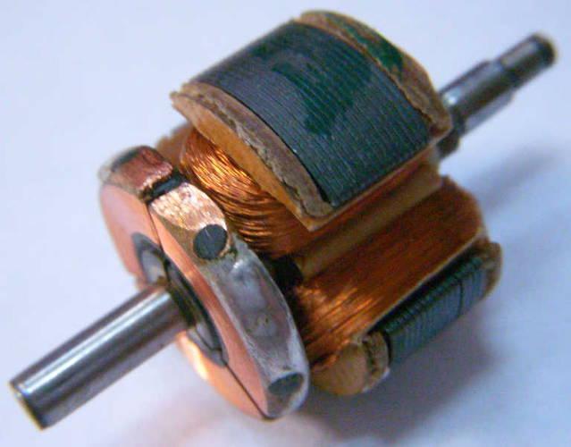 Якорь двигателя электробритвы Бердск 4