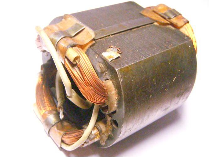Статор советского электрорубанка под якорь 41 мм