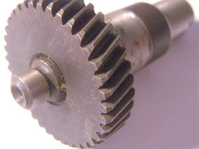 Оригинальный вал 70 мм с шестерней 12*40 для дисковой пилы Rebir