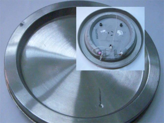 Дисковый тэн 140 мм для электрочайника