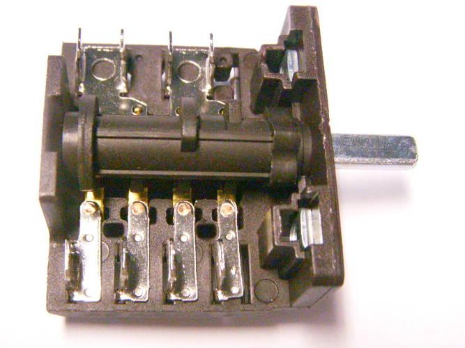 5-ти позиционный переключатель AC4 с 2*2+4 контактами для электроплиты