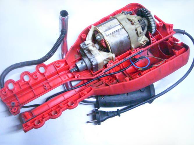 Ремонт электрокосы типа EMK-1600