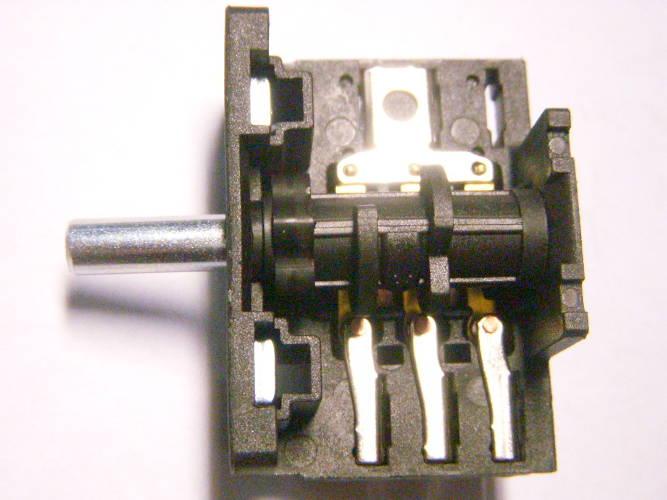 5-ти позиционный переключатель AC3 EAC 30E3 на 3+2 контакта