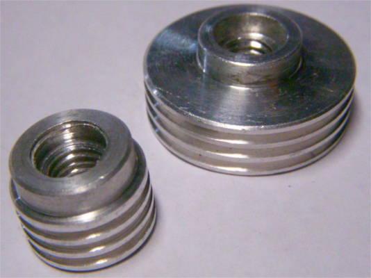 Комплект шкивов d30.5*17 мм под 3-х ручейный ремень электрорубанка