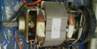 Двигатель мясорубки РОТОР
