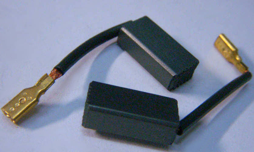 Щетки 5*8 с клеммой для перфоратора и электродрели