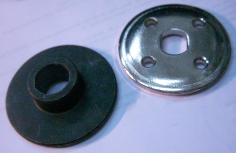 Прижимной комплект фиксации диска электропилы Rebir IE-5107G1