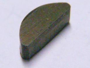 Шпонка вала электрокосы, болгарки размером 3.8*8.9*3 мм