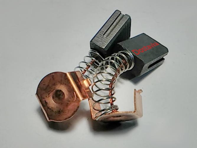 Щетки для болгарки 6*11 h14 пятак-скоба две прорези на пружинке