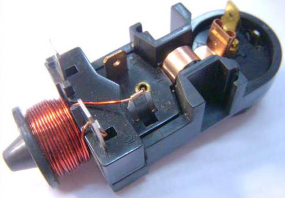 Пусковое реле 1/6HP-220V с индуктивной катушкой