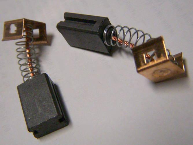Щетки для болгарки 6*9 мм с прорезями и прямоугольными защелками