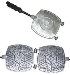 Алюминиевая форма для приготовления традиционного печенья ассорти