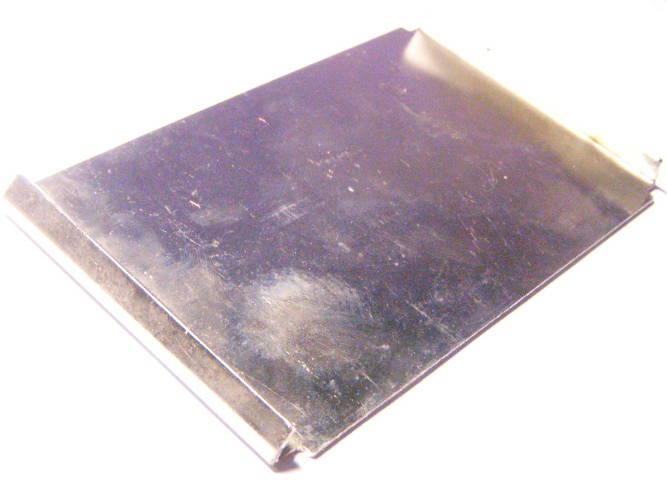 Подошва электрорубанка размером 80*130 мм
