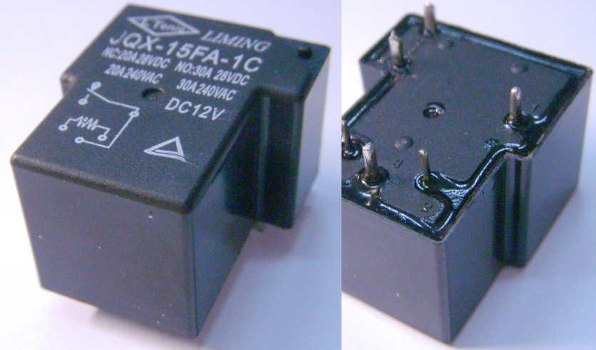 Электромагнитное реле на 12 В для устройств автоматики
