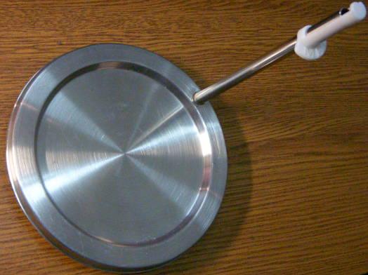 Дисковый тэн 140 мм для керамического чайника с отводной трубкой 138 мм