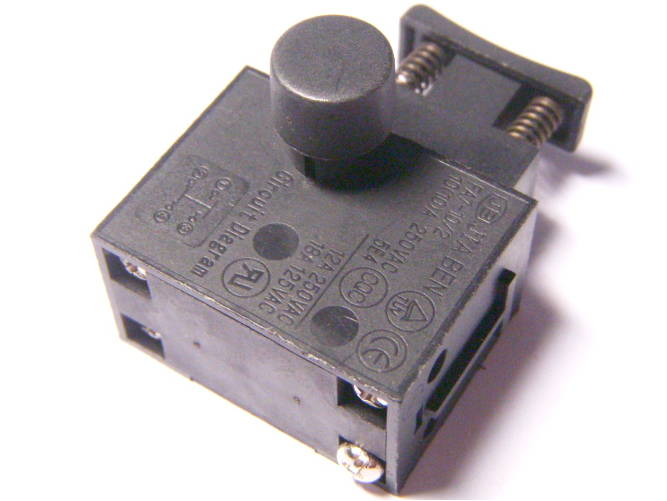 Кнопка газа цепной электропилы Темп, Интерскол, Craft-Tec EKS-2000