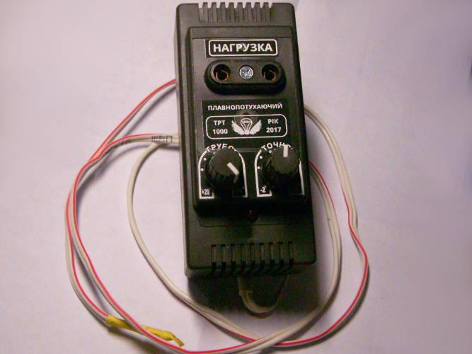 Плавнозатухающий терморегулятор с грубой и точной подстройкой