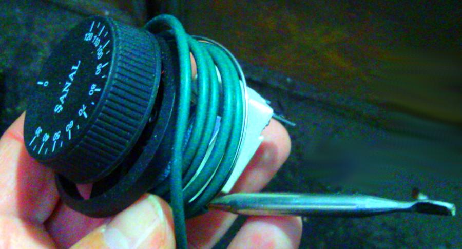 Термометр до 120°C с гибким датчиком 1 метр