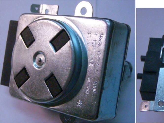 Моторчик поворота шампуров электропечи гриль