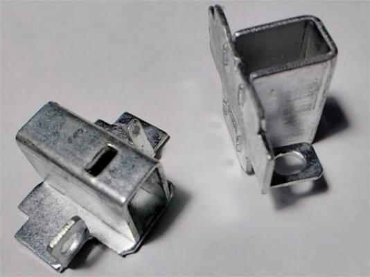 Щеткодержатели из оцинковки 19 мм под щетки 6*10