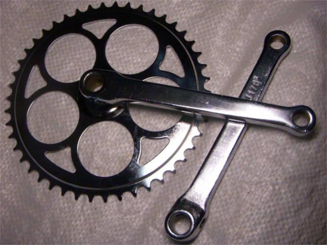 Средняя педальная звезда для велосипеда 46 зубьев