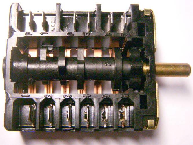 5-ти позиционный переключатель ПМ-16-5-06 электроплиты Мечта 15М