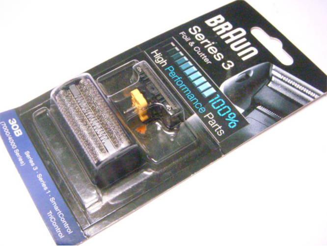 Оригинальный стригущий блок для электробритвы BrAun series 3 30b (7000/4000)