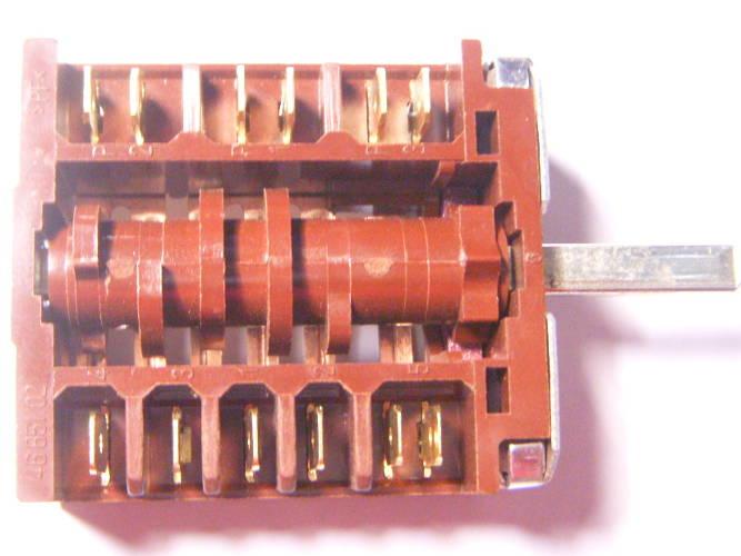 7-позиционный переключатель конфорочной электроплиты Zanussi