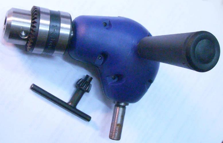 Угловой редуктор насадка электродрели под сверла до 10 мм