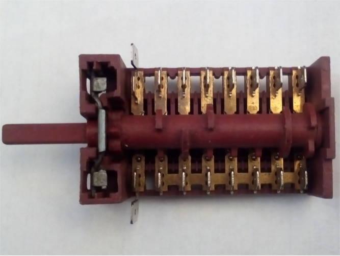 8-ми контактный переключатель электроплиты с передними клеммами