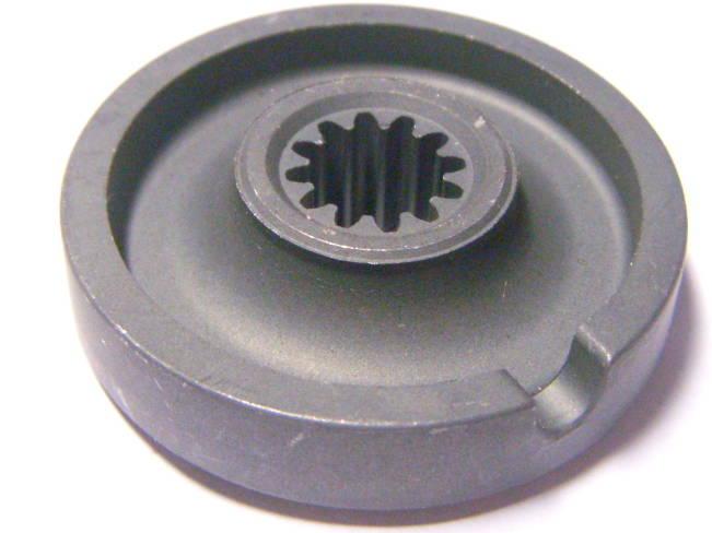 Шлицевая шайба на 12 шлицов электрокосы Элпром, Craft-Tec, Ритм, Клевер