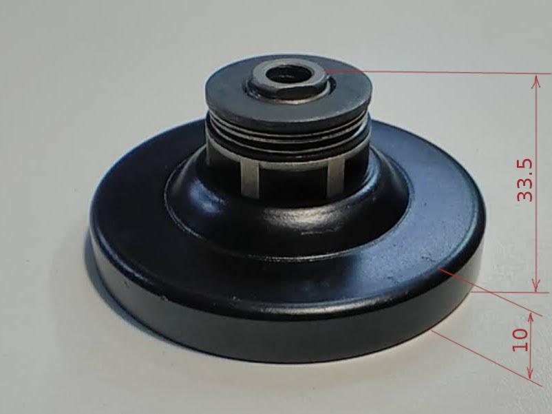 Чашка 33 мм с звездой цепной электропилы Энергомаш, Craft-Tec EKS-2000