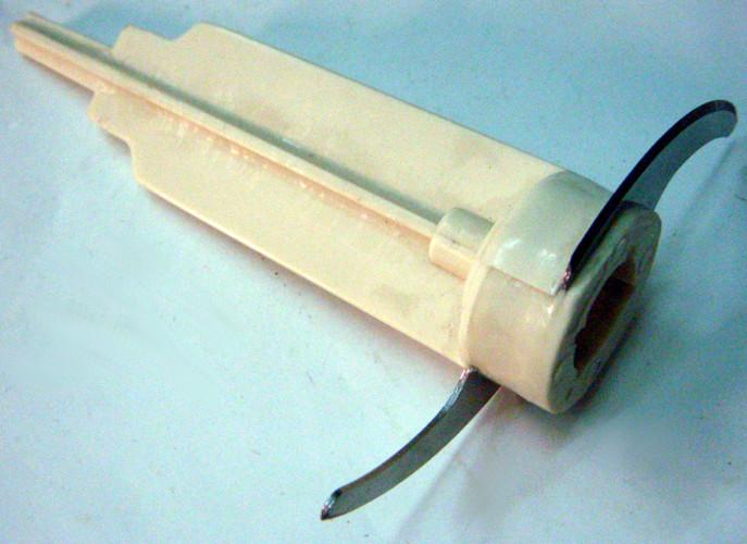 Нож блендера 17*117 мм на плоском штоке