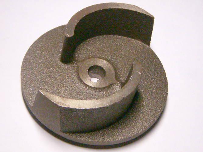 Двухлопастное чугунное колесо фекального насоса Sprut, Насосы+