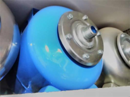 Стальной бак давления насосной станции на 24 литра