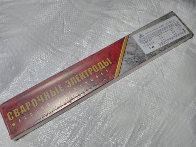 Электроды для сварки АНО-21 Ø2.0 1 кг